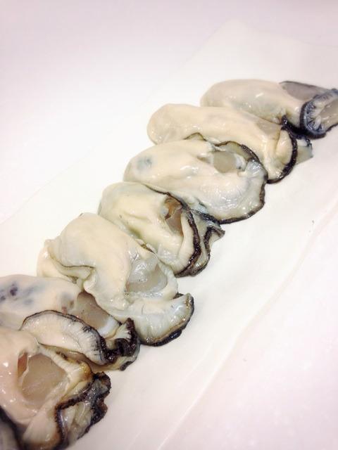 牡蠣と日本酒(≧∇≦)