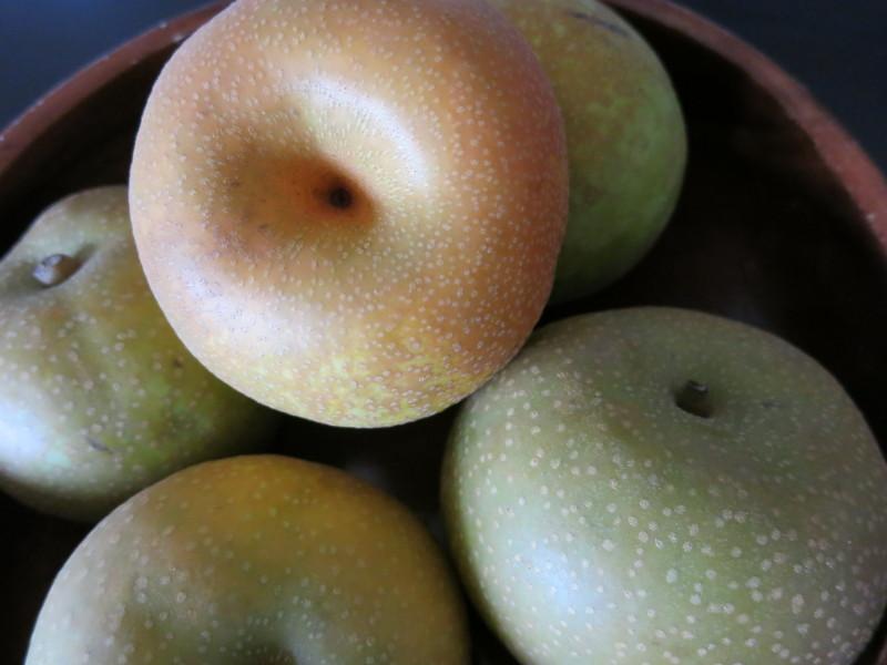 喉にいい食べ物~梨