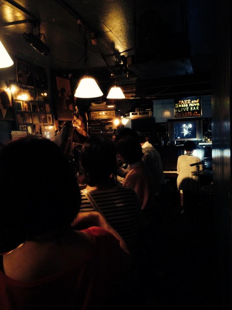 たくさんのお客さま、ありがとうございます!昨夜のライブ♪
